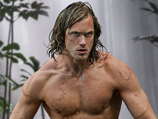 Alexander Skarsgard Ate 7,000 Calories a Day to Get His 8-Pack for Tarzan