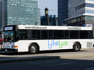 Burn 400 Calories on Your Daily Commute with BikeBus, a Cycling Studio on Wheels