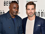 How Chris Pine Got a Real-Life Shiner From Idris Elba While Filming Star Trek Beyond