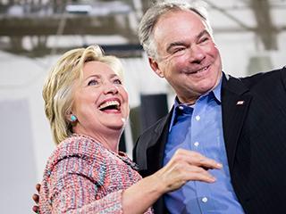 Hillary Clinton Announces Virginia Senator Tim Kaine as Running Mate