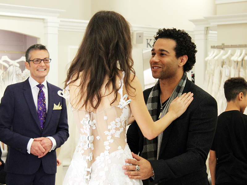 Corbin Bleu and Sasha Clements Are Married
