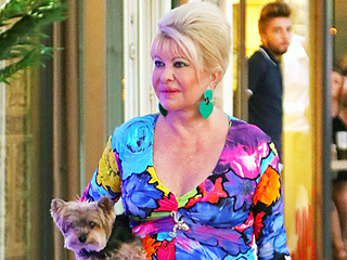 Ivana Trump Vacations in St. Tropez While Her Children Support Their Father Donald in Cleveland