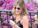 Ciao Bella! Jennifer Aniston Steps Out in Floral Sundress in Italy Ahead of Film Festival Honor