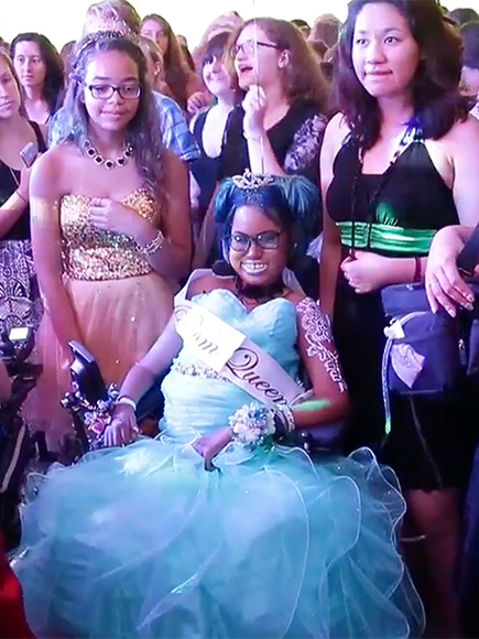 Prom Queen! Wisconsin Teen with Painful Disease Gets Her Last Dance Before She Decides to End Her Life