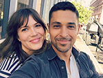 Friendly Exes Wilmer Valderrama and Mandy Moore Share Sweet Selfies After Bumping into Each Other