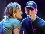 Celeb Sing-a-Long! Miles Teller Joins Keith Urban Onstage for a Duet to 'My Girl'
