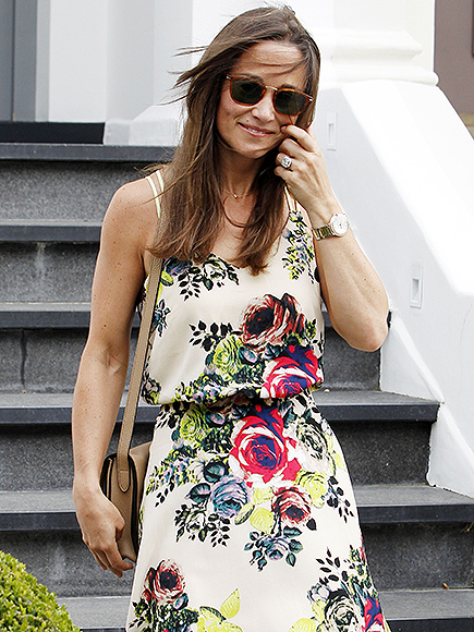 Pippa Middleton Is All Smiles as She Steps Out in London – with Her Stunning Engagement Ring on Display| Engagements, The British Royals, The Royals, Pippa Middleton