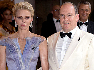 Princess Charlene Dazzles in a Lilac Gown at Red Cross Gala: 'She Likes to Surprise Me,' Says Prince Albert