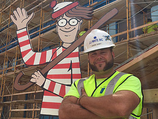 Indiana Construction Foreman Turns Work Site Into Game of 'Where's Waldo' for Kids in Hospital