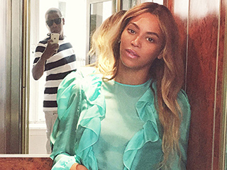 Jay Z Made a Surprise Appearance in Beyoncé's Cute Elevator Pic – and the Internet Is Freaking Out