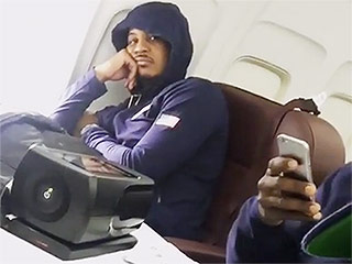 Carmelo Anthony Is Unimpressed with Team USA's Vanessa Carlton Sing-Along on Their Way to Rio