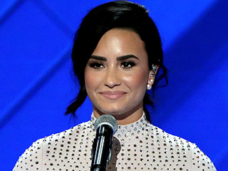 WATCH: Demi Lovato Speaks for Mental Health Awareness at Democratic National Convention, Performs 'Confident'