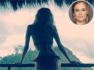 Bikini-Clad Diane Kruger Enjoys Vacation Following Split From Joshua Jackson