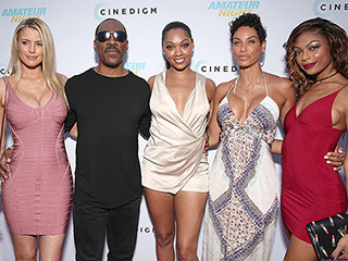 Eddie Murphy and Girlfriend Paige Butcher Join His Ex-Wife Nicole Murphy at Premiere of Daughter Bria's New Movie