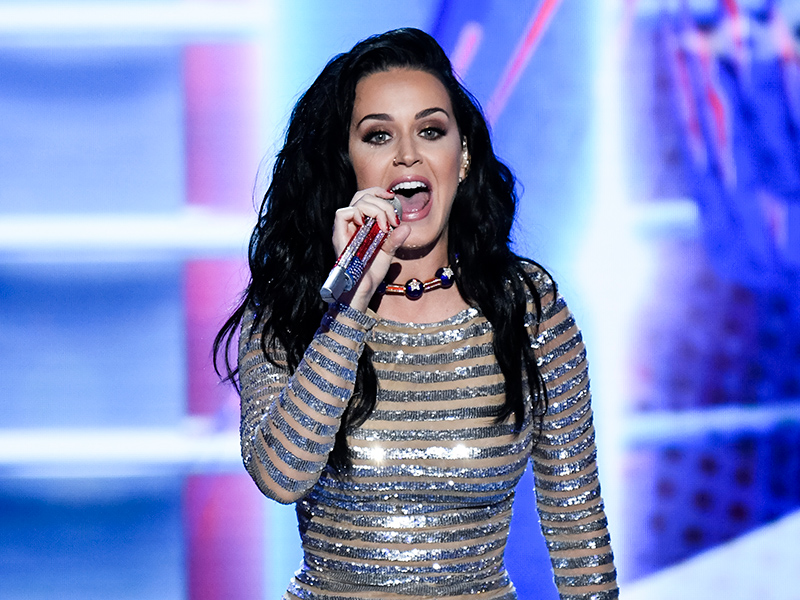 Katy Perry Performs at DNC in Support of Hillary Clinton : People.com Katy Perry
