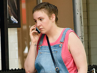 Hannah and Her Baby? Lena Dunham Sports a Faux Bump on the Girls Set