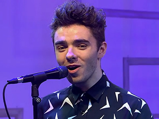 WATCH: Nathan Sykes Surprised by Adorable Pikachu Onstage at PEOPLE Now Concert