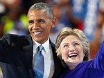 President Obama Passes The Torch: 'Never A Man Or Woman - Not Me, Not Bill, Nobody - More Qualified Than Hillary Clinton'