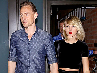 Taylor Swift Is All Smiles in a Crop Top and Skirt while Stepping Out for Romantic Dinner Date with Tom Hiddleston in L.A.