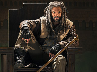 FROM EW: The Walking Dead's Ezekiel Speaks! Khary Payton on Landing the Coveted Role