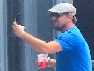 Leonardo DiCaprio Plays Paparazzi and Sneaks Up on Pal Jonah Hill – Completely Scaring Him!