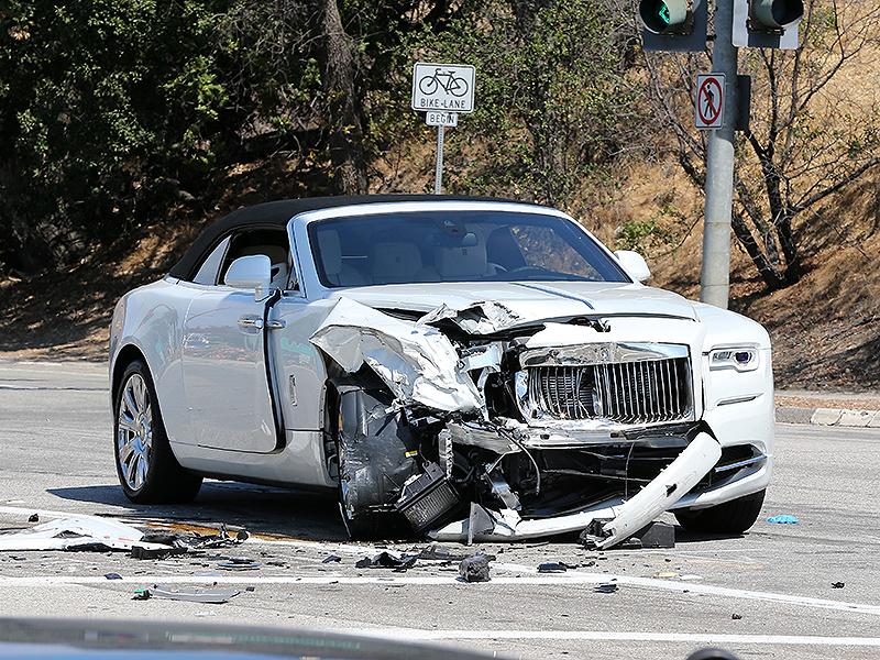 Kylie Jenner Car Accident