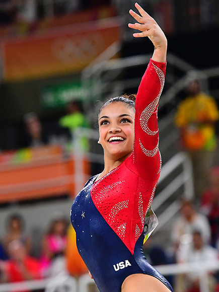 Watch 8 Year Old Laurie Hernandez S Floor Routine