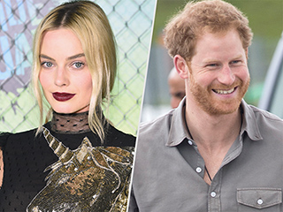 Margot Robbie Has Prince Harry's Phone Number – and She Takes Weeks to Text Him Back!