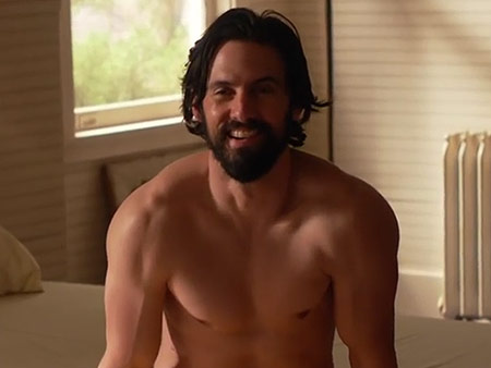 Milo Ventimiglia on This Is Us Nude Scene: 'I Think My Ass Was Prepared'