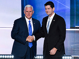 Mike Pence Endorses Paul Ryan – One Day After Donald Trump Refused to Back the House Speaker