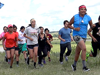 These Native American Youths Are Running 2,000 Miles to Protect Their Water