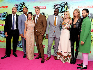 Villains Assemble! Cara Delevingne, Will Smith, Ben Affleck and More Hit Suicide Squad London Premiere