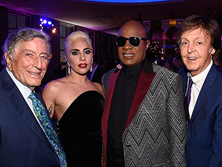 FROM EW: Watch Lady Gaga and Stevie Wonder Sing a Funky 'Happy Birthday' to Tony Bennett