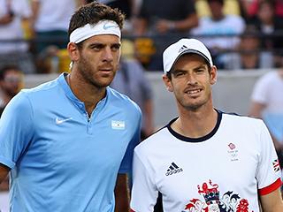 Andy Murray Defeats Argentina's Juan Martín del Potro for the Gold Medal in Men's Tennis