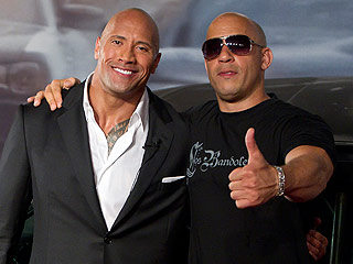 The Rock Fails to Mention Vin Diesel as He Thanks Tyrese Gibson and Crew after Wrapping Fast 8