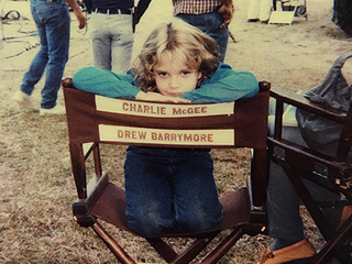 FROM EW: From Firestarter to E.T. – Drew Barrymore Shares Adorable Throwback Pics