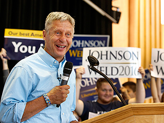 Could the Libertarian Candidate Finally Be Invited to the Presidential Debates? Gary Johnson Inches Closer to Qualifying
