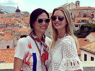 Pals Ivanka Trump and Wendi Deng Murdoch Go Sightseeing in Croatia