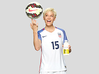 Soccer Superstar Megan Rapinoe Says 'We're Fighting to Win the Gold in Rio'