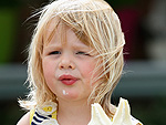 Mia Tindall Can't Get Enough Ice Cream – Just Like Any Other Toddler