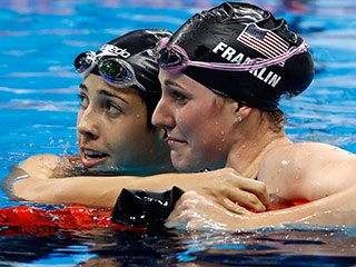 Missy Franklin, Golden Girl of 2012 Olympics, Ends Disappointing Run in Rio