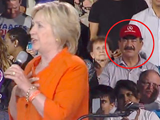 Father of Orlando Nightclub Shooter Attends Hillary Clinton Rally in Florida