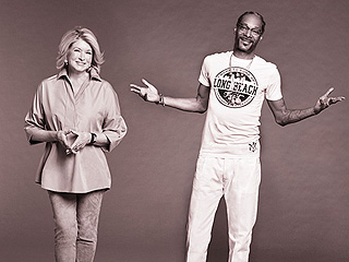 FROM EW: Martha Stewart and Snoop Dogg Teaming Up to Host Cooking Show on VH1