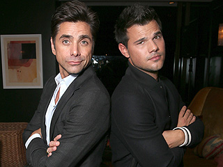 Taylor Lautner Talks Filming Scream Queens: 'John Stamos Has Been Shirtless 5 Times' in 2.5 Weeks