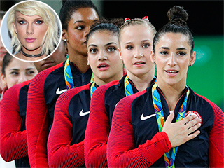 Taylor Swift Congratulates U.S. Women's Gymnastics Team in First Tweet Since Kimye Feud