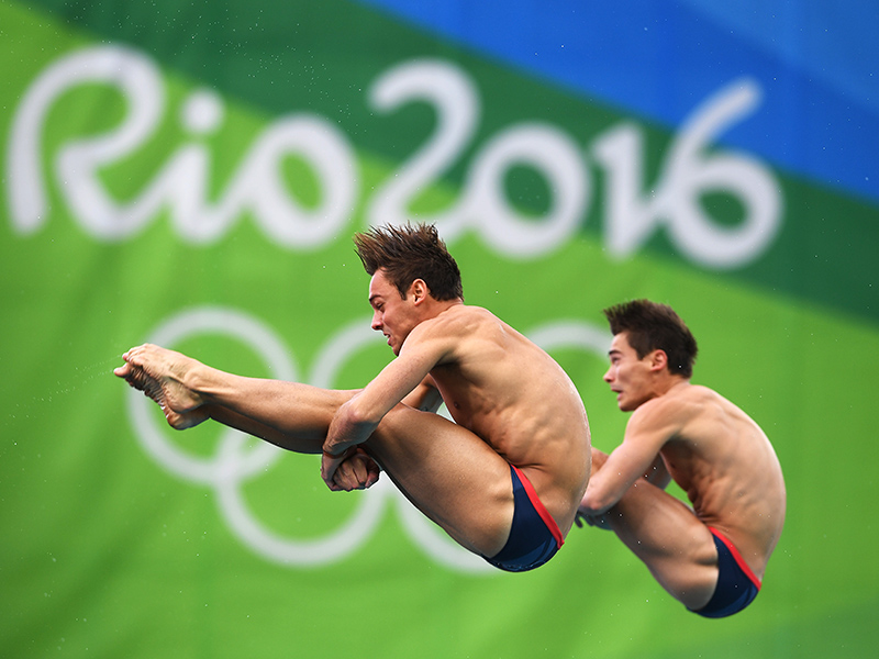 from Jonathan synchronized diving are they gay