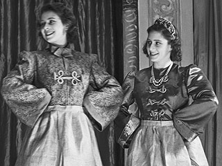 Queen Elizabeth as Aladdin...Really! See the Costume from Her Early 'Acting' Years