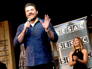 How Chris Young and Cassadee Pope's Friendship Survived the 'Worst Thing That Can Happen' on Stage
