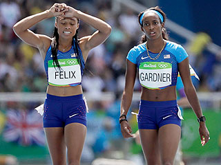 U.S. Gets Another Shot at Qualifying Relay Final After Allyson Felix Was Bumped by Brazilian Runner and Dropped Baton