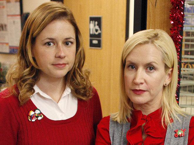 Angela Kinsey Shares Sweet Office Throwback Pic with Jenna Fischer: 'My Anchor Through Life'